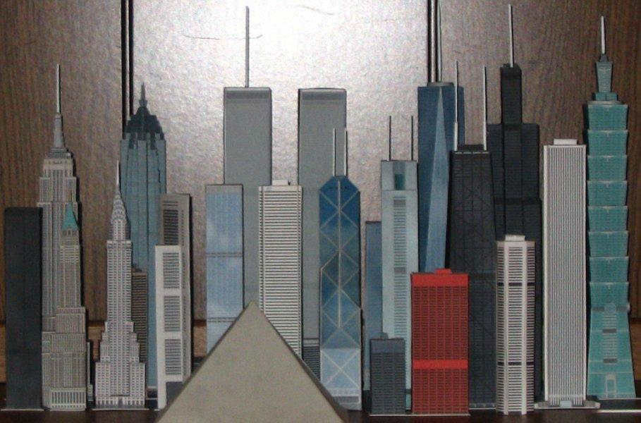 SkyscraperModels us - THE place for free build-it-yourself model